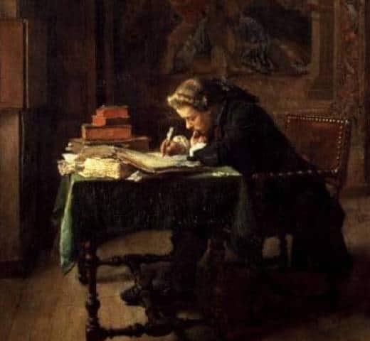 A aventura da escrita